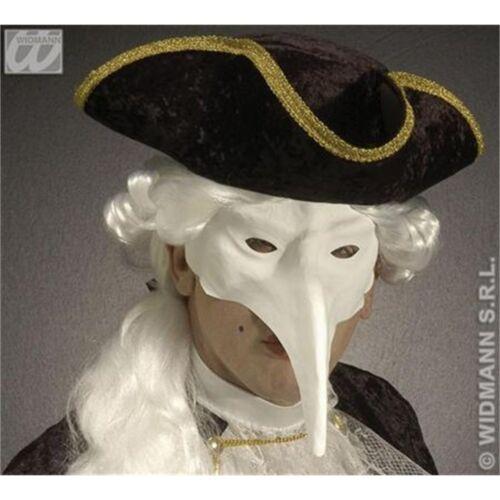 BIANCO Tinta Unita Bird Eye Mask-VENEZIA verniciabile maschere Eyemasks travestimenti Fancy