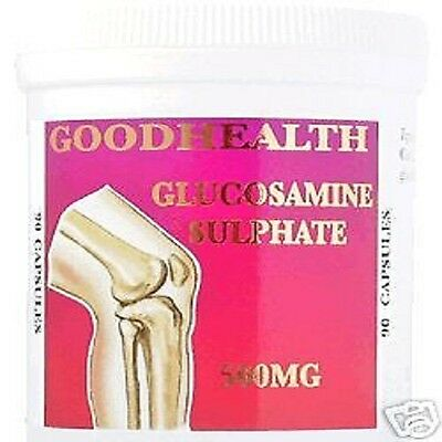 GLUCOSAMINE SULPHATE (500mg) 90 Capsules FREE POSTAGE
