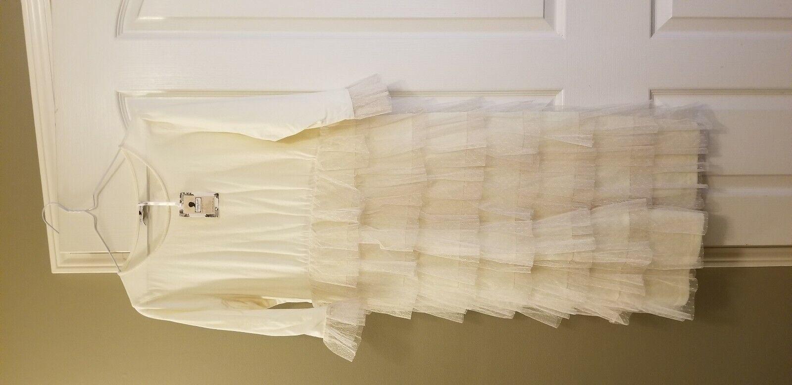 Dainty Jewells Long Dream Dress Dress Dress cream size XL 11953a