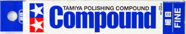 Tamiya 87069 Polishing Compound Fine (22ml)