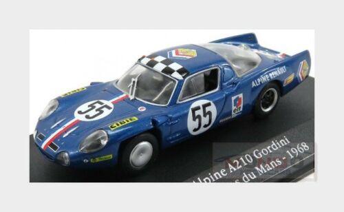 Renault Alpine A210 #55 Le Mans 1968 Andruet Nicolas EDICOLA 1:43 ED2235023