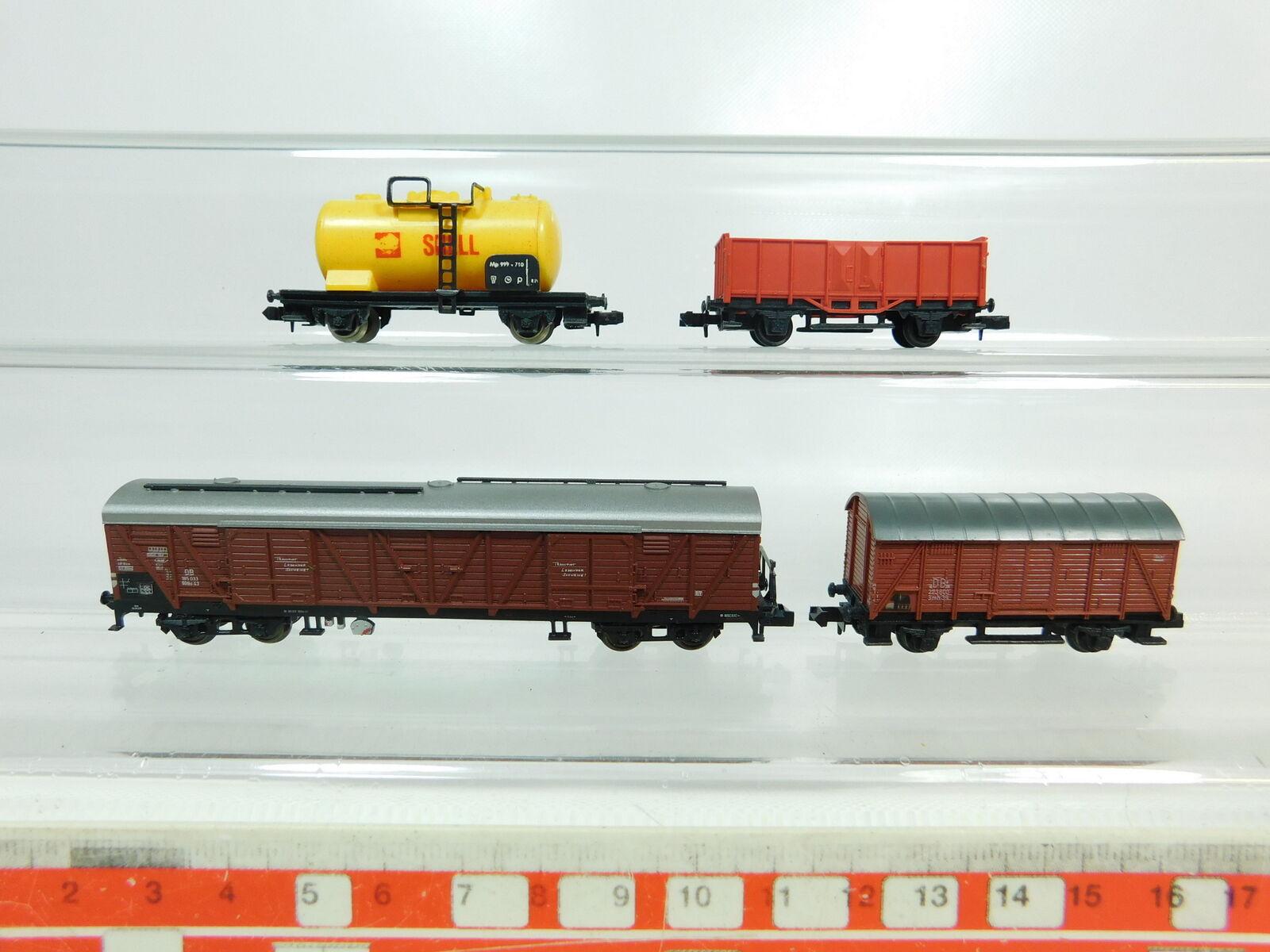 BR761-0,5 x Escala N   Dc Vagón de Mercancía  Arnold Rapido + Lima +