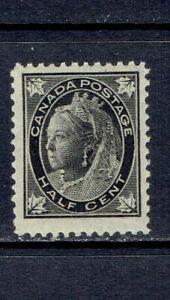 CANADA  1897 - 1/2c  QUEEN VICTORIA MAPLE LEAF ISSUE - SCOTT 66 - MNH