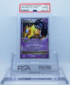 Pokemon-PLATINUM-GIRATINA-LV-X-124-HOLO-FOIL-CARD-PSA-10-GEM-MINT