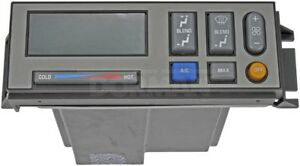 HVAC Control Module Front,Rear Dorman 599-013 Reman
