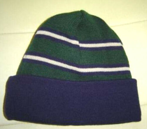 BOYS MOTHERCARE KIDS GIRLS STRIPE WOOLY HAT BLUE//GREEN AGES 1//2 3//4 5//6 new