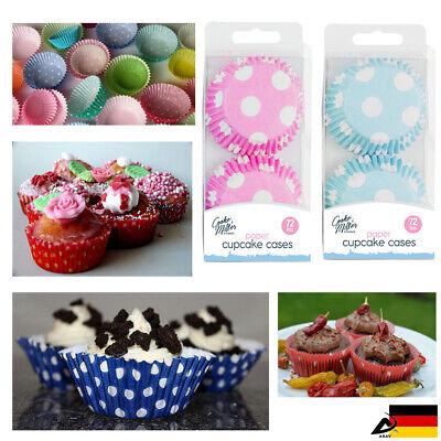 72 Pezzi Forma Muffin Cupcake Forma Carta Ganasce Stampo Muffin Torta Förmchen-