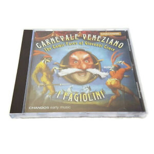 Carnevale-Veneziano-I-Fagiolini-Comic-Faces-of-Giovanni-Croce-Import-UK-Music-CD