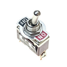 Industec Heavy Duty 20a Spst 2 Pin Toggle Switch Maintained 2 Pos 12v 125 250v