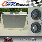 "3 ROW Holden Kingswood HQ HJ HX HZ V8 CHEVY AT/MT ALUMINUM RADIATOR + 2*10"" FAN"