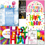 thumbnail 5 - Doodlecards Pack of 10 Square Contempory Mixed Birthday Cards