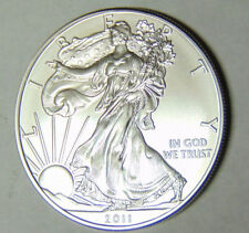 3 NEW 1 Troy Ounce American Silver Eagle .999 Fine Silver Brilliant Uncirculated