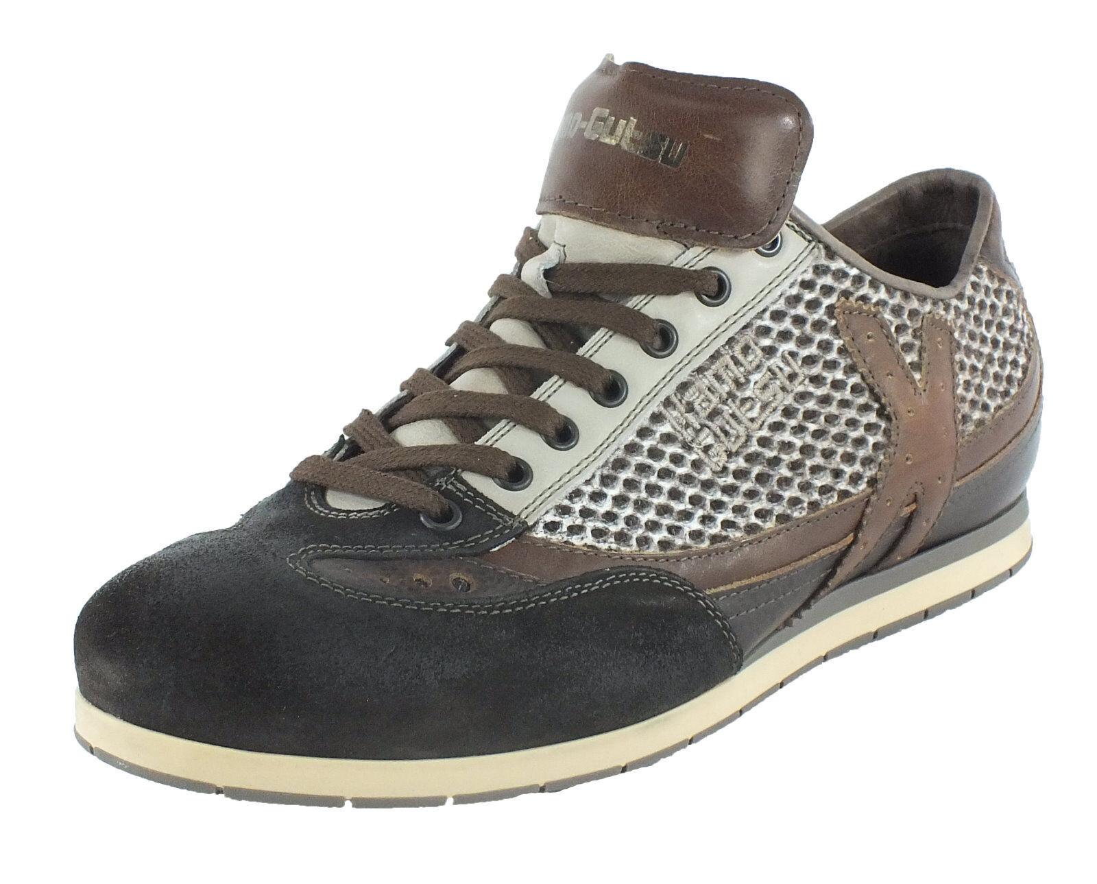Kamo-Gutsu Men's Leather Lace up shoes Low shoes Lace up 10204