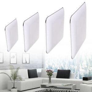 Ultraslim-Deckenleuchte-LED-Badleuchte-Deckenlampe-Dimmbar-Silber-Flurlampe