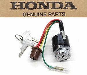 new genuine honda ignition key switch 1972 1976 ct70 ct70h. Black Bedroom Furniture Sets. Home Design Ideas
