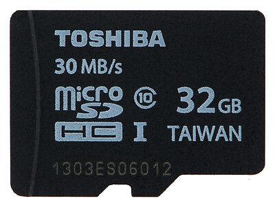 TOSHIBA MICROSDHC CLASS 10 32GB 32G 32 G GB MICRO SD HC UHS-I U1 FLASH MEMORY