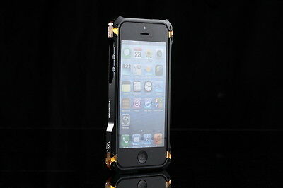 Black Aluminum Metal Bumper Cleave Frame Case Cover for Apple iPhone 5 5G 6TH