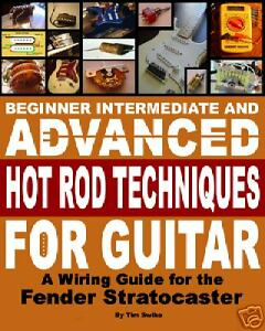fender stratocaster electric guitar pickups wiring harness book on rh ebay com electric guitar wiring book Guitar Wiring Diagram Two Humbuckers