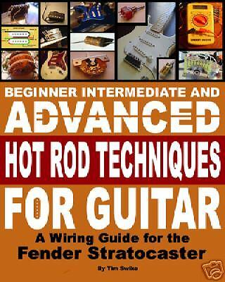 fender stratocaster electric guitar pickups wiring harness book on cd ebay. Black Bedroom Furniture Sets. Home Design Ideas