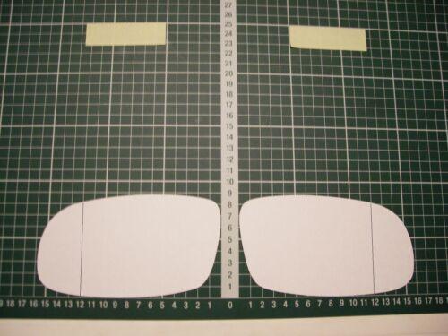 Rétroviseur Extérieur Miroir De Verre Ersatzglas TOYOTA RAV 4 Type 1 AB 1994-98 Li Ode RE ASPH