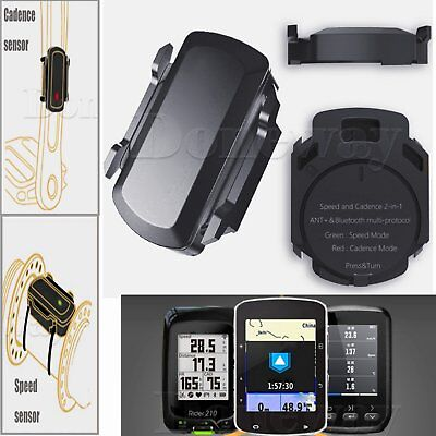 Cycling ANT Wireless Speed Cadence Sensor For Garmin Bryton Bike GPS