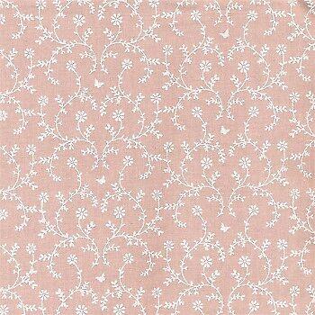 altrosa Blumenranken 0,5 Meter AU MAISON Wachstuch Claire Powder Rose