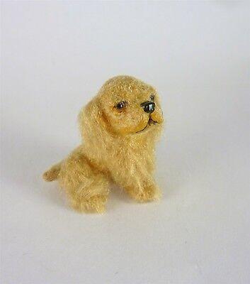 Alice Zinn Artisan Dollhouse Miniature Cocker Spaniel Puppy Dog
