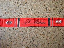 d32 sciarpa MILAN AC nylon football club calcio scarf bufanda italia italy