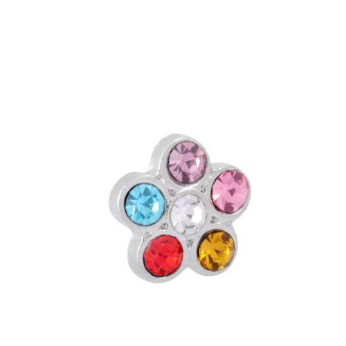 5 minicabochons los depositantes flor bricolaje servirle esmaltes pedrería 8mm 1847