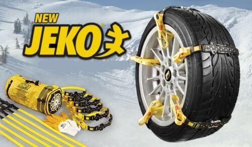 JEKO UNIVERSAL SNOW & MUD BELTS snowbelt winter wheel grips anti slip ice chains