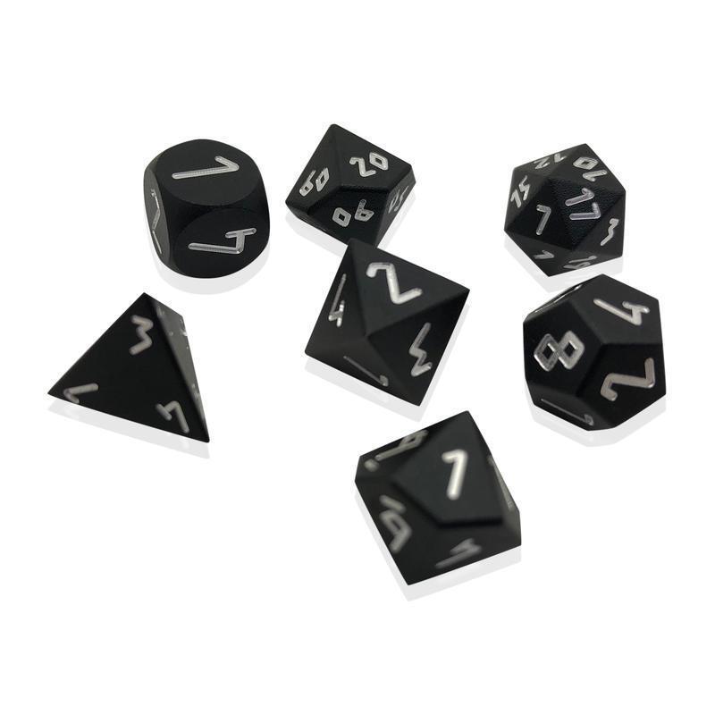 nuevo sádico Noche Negro Negro Negro Guijarro ™ dados - 10 mm Mini Aluminio de grado aeronáutico 6061  mejor precio