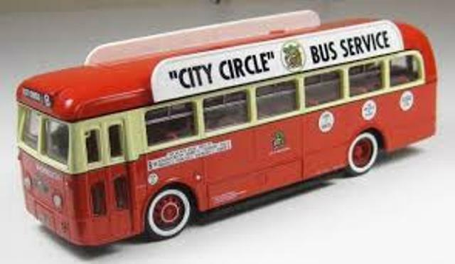 Corgi 34901 Leyland Royal Tiger Manchester Corp Ltd Ed 1 50th de bus único de cubierta