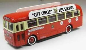 CORGI-34901-LEYLAND-ROYAL-TIGER-MANCHESTER-Corp-single-deck-bus-Ltd-Ed-1-50th