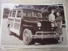 1946 Willys Wagon 11 X 17 Photo Picture
