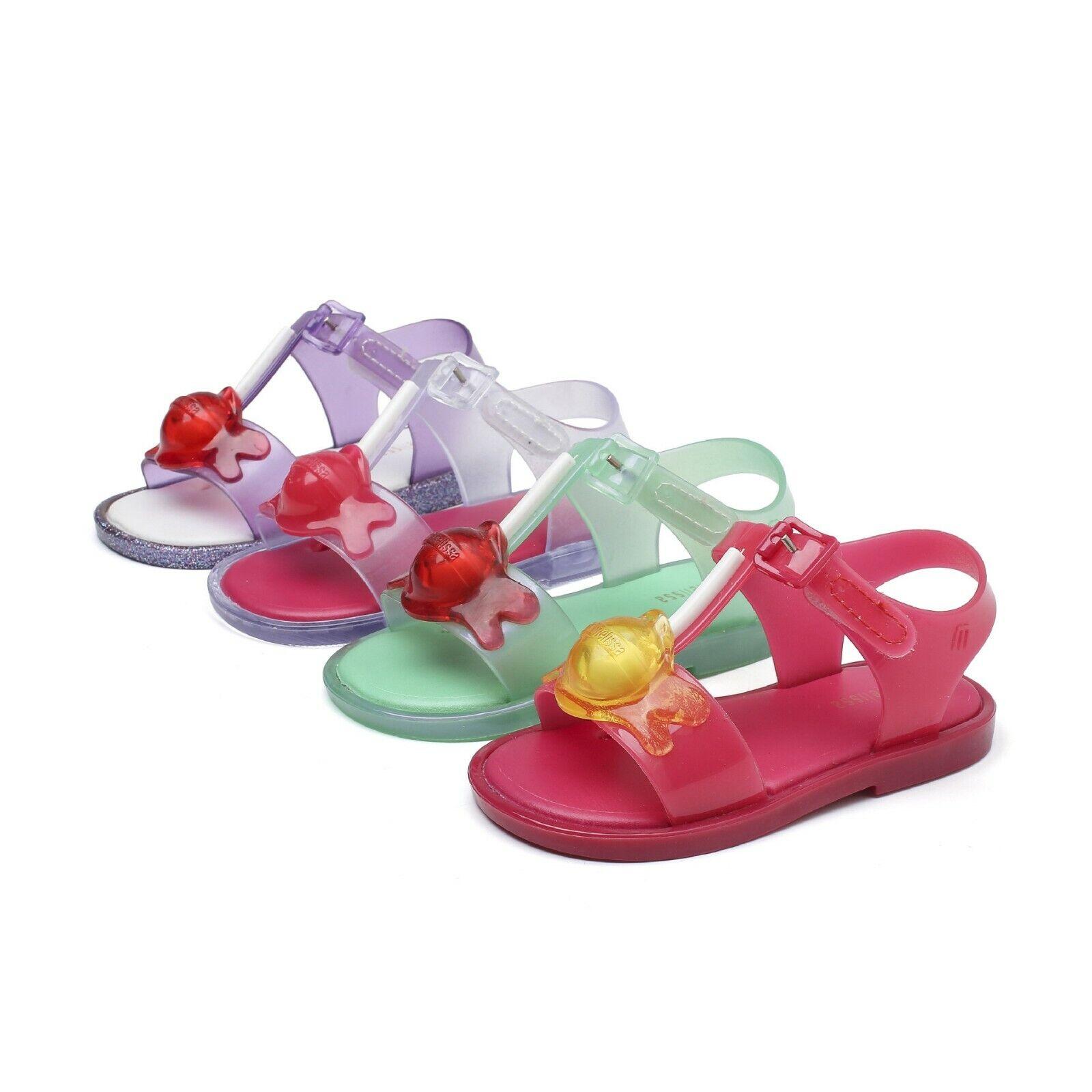 Nice Birdnest Girls Mini Melissa Summer Shoes Sandals Toddlers US Size 7-12