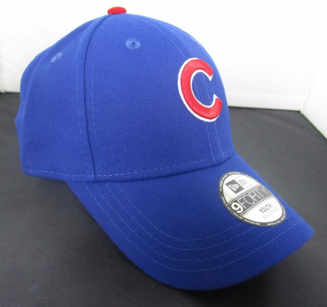e465d2e017e1f MLB Chicago Cubs Era 9 Forty 940 Strapback Blue Hat Kids Youth With ...