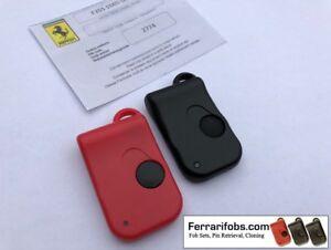 Image Is Loading Set Of 2 New Matching Ferrari Remote Key
