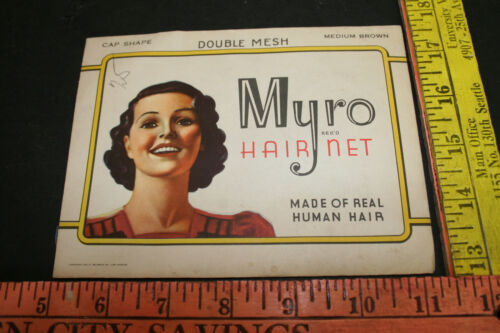 Vintage Human Hair Net, Myro Net, Circa 1930's – 4