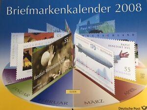 Briefmarkenkalender 2008 der Deutschen Post - Limitierte Auflage - Tirschenreuth, Deutschland - Briefmarkenkalender 2008 der Deutschen Post - Limitierte Auflage - Tirschenreuth, Deutschland