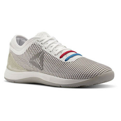Reebok Women CN2983 Crossfit Nano 8 Training shoes white grey sneakers