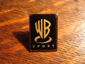 Warner-Brothers-Sport-Lapel-Pin-Vintage-Bros-Sports-Media-Studio-Wincraft-Pin