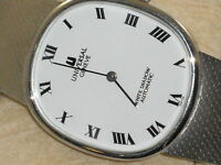 """Universal Geneve SS Automatic """"WHITE SHADOW"""" NEW"""" PRICE TO SELL FAST"""