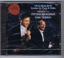 ZUKERMAN NEIKRUG CD NEW MOZART SONATAS K 27,303,454 VOL.2