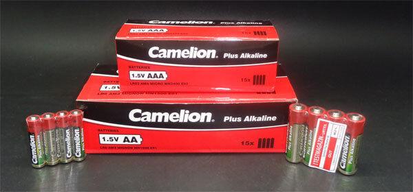 Camelion 120 x Batterie - 60 x AA Mignon LR6 + 60 AAA Micro LR03 Plus Alkaline   Sehr gelobt und vom Publikum der Verbraucher geschätzt