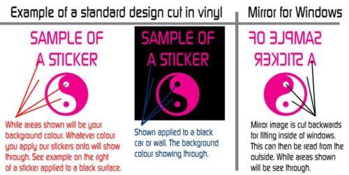 Revo Performance Car Vinyl Decals Stickers Race Surf Day Van Door Stack Window