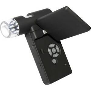 Toolcraft-microscopio-usb-con-monitor-5-mpixel-zoom-digitale-max-500-x