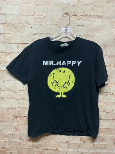 Mr Happy Mr Men T Shirt Men's Small