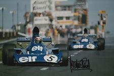 Jackie Stewart Hand Signed Tyrrell F1 12x8 Photo 6.