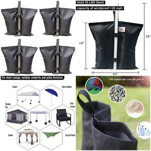 Canopy Tent Leg Weights Bag Pop Up Tent Gazebo 20- 25 ...