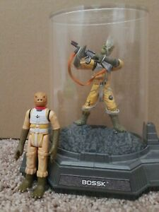 Star-Wars-BOSSK-Titanium-Die-Cast-Figure-Hasbro-2005-and-1980-vintage-bossk